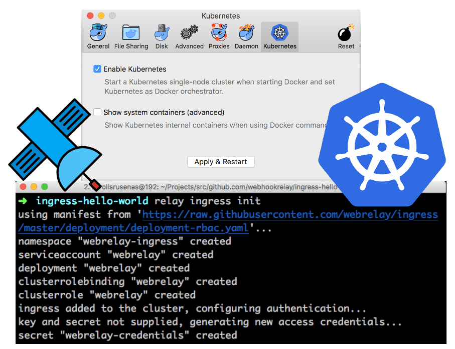 Web Relay Ingress with Docker for Mac — Web Relay