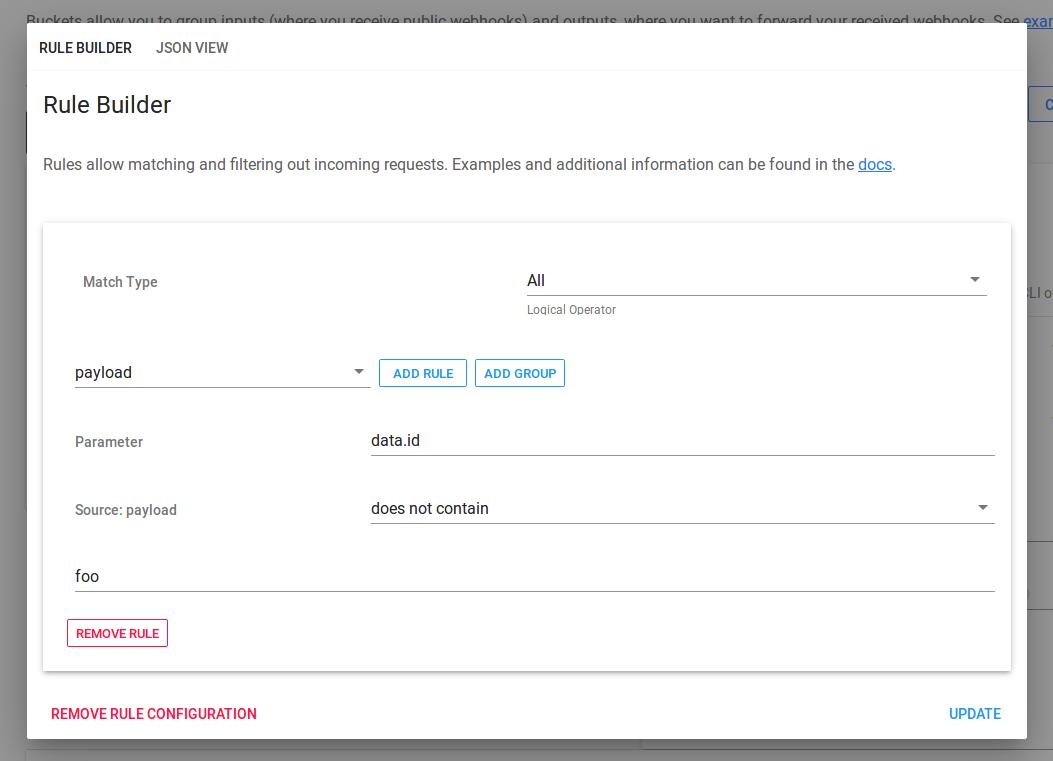 Webhook Forwarding — Web Relay