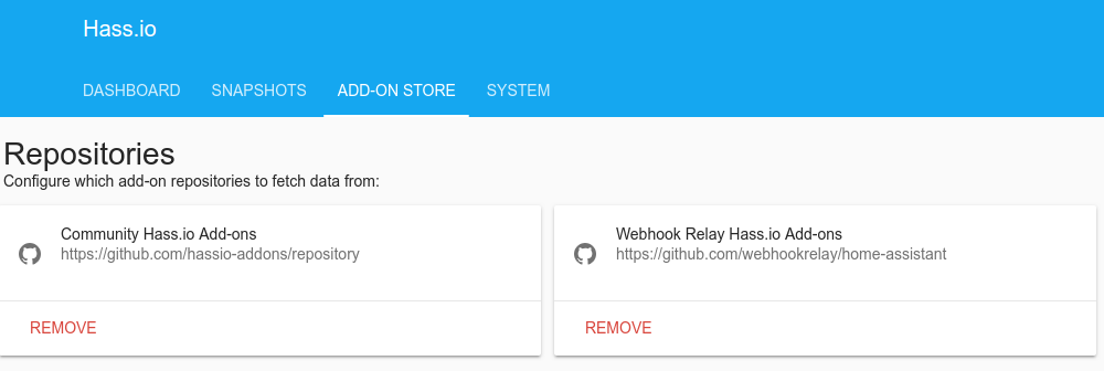 Home Assistant Add-on — Web Relay